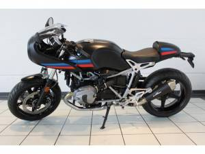 BMW R nineT Racer Lenkerumbau schwarz matt
